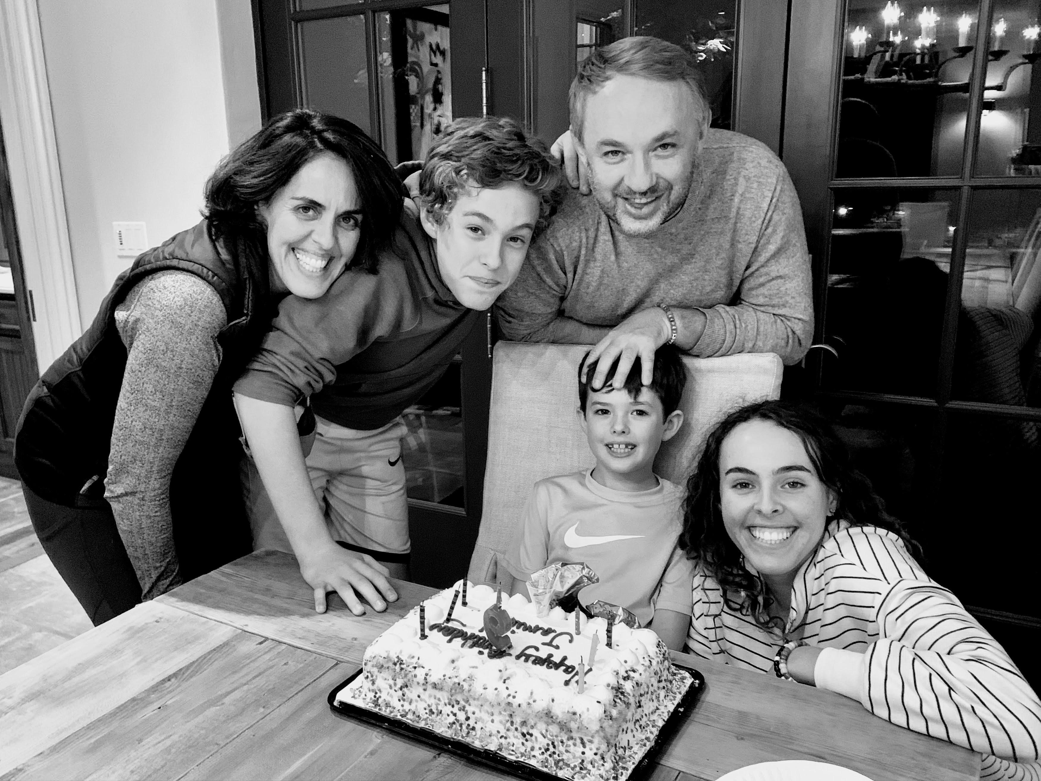 Marisa Wilson and family